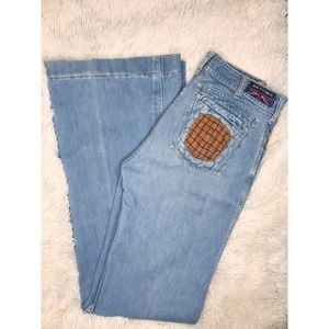 Vintage 70s Brittania Bell Bottoms